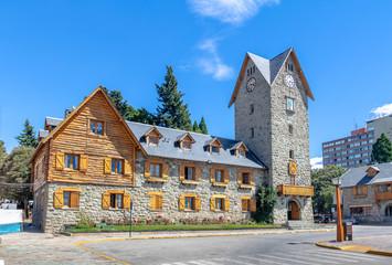 Civic Center (Centro Civico) in downtown Bariloche - Bariloche, Patagonia, Argentina