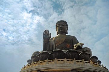 Tian Tan Buddha (Big Buddha). Hong Kong (China)