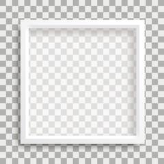 Bildrahmen Weiß Transparenter Hintergrund