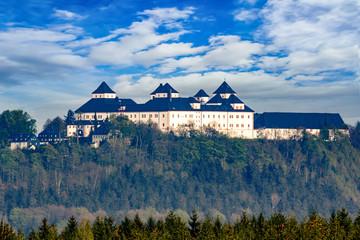Castle Augustusburg in Saxony