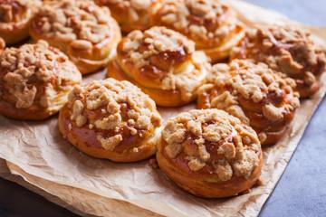 homemade sweet buns