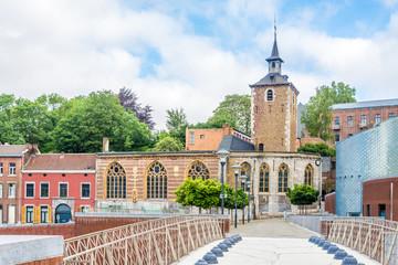Churh of Saint Servacius in the streets of Liege - Belgium