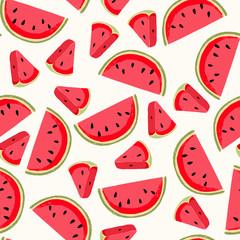 Watermelon seamless pattern