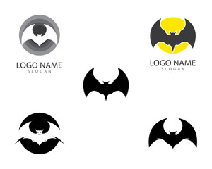 Bat vector icon
