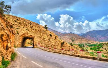 Road N31 in Batna Province of Algeria