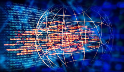 Programmcode und globales Netzwerk