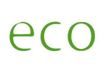 Texto de ecología en verde.