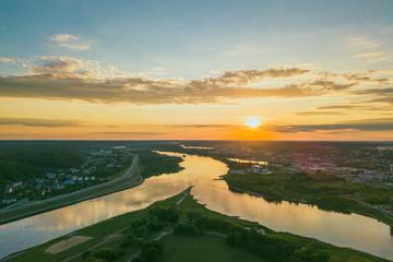 Neman and Neris confluence, Kaunas, Lithuania