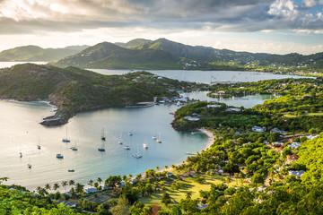 Sunset at English Harbor, Antigua Barbuda, Caribbean
