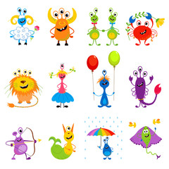 Funny monsters horoscope / zodiac