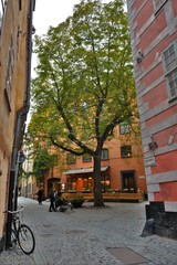 Random street view in Gamla Stan