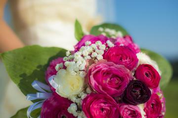 Rosenstrauß - Hochzeit