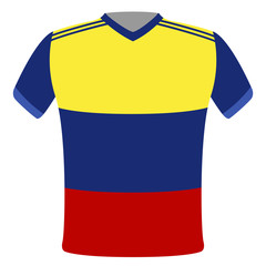 Flag t-shirt of Ecuador