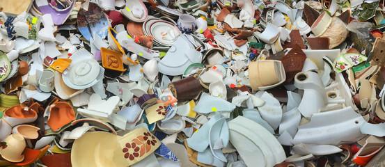 Shards. Ceramics. Pottery.
