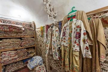 Arabic Clothes in a Shop