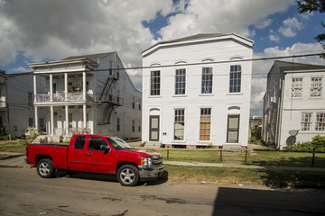 Historic house in a district of New Orleans
