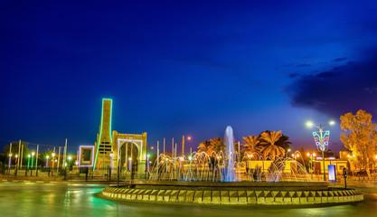 Fountain in Touggourt, Algeria
