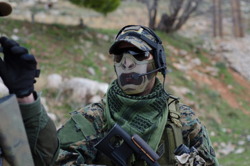 Tactical Headsets sniper airsoft