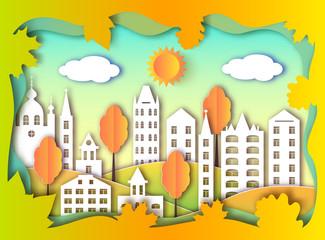 building of big city