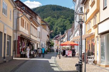 Ladenstraße von Friedrichroda
