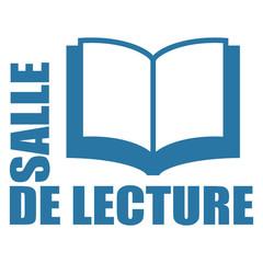 Logo salle de lecture.