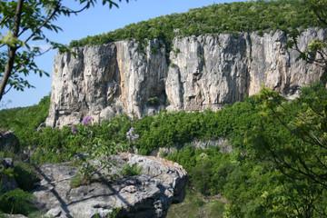 Big mountains rocks