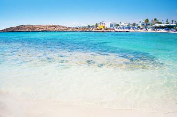 breathtaking Vathia Gonia beach