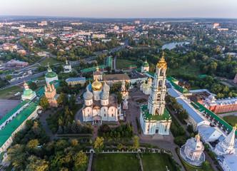 Holy Trinity Sergius Lavra, Sergiev Posad, aerial photography