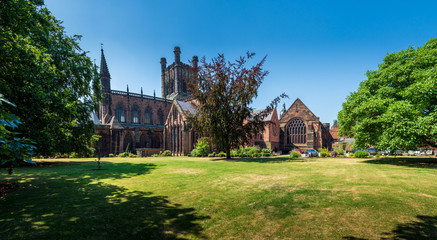 Chester Cathedral in summer Fotomurales