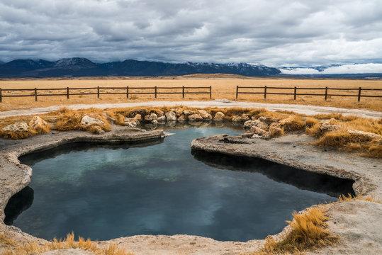 Meadow Hot springs, Utah
