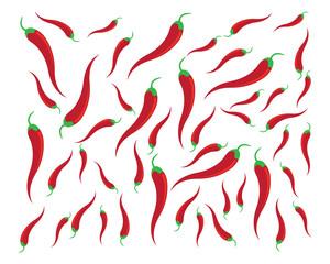 Chili vector icon