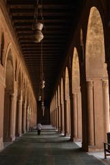 A Mosque corridor in Cairo Egypt