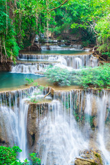 Wall Mural - Landscape Huai Mae Kamin waterfall