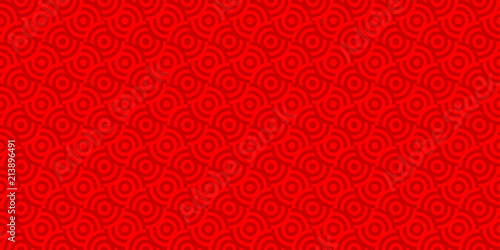 background pattern seamless red luxury circle abstract vector design chinese new year background
