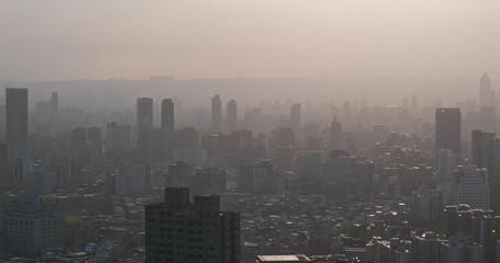 Air pollution of taipei city