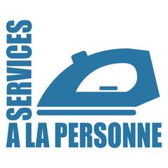 Logo services à la personne.