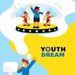 rapper dream youth dream background