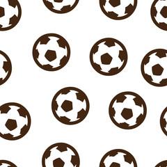 Football ball pattern seamless isolated