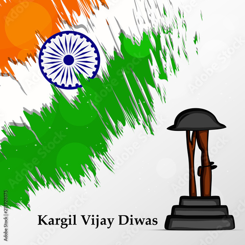 Illustration of Kargil Vijay Diwas Background  Kargil Vijay
