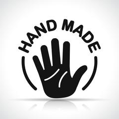 hand made icon design concept