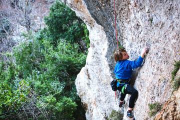 little child climber