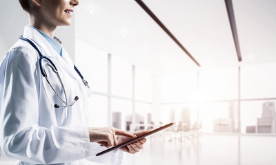 Contemporary gadgets for medical employee