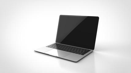 ノートパソコン 3Dレンダリング