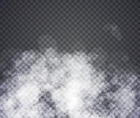 Fog or smoke. Illustration on transparent background. Graphic concept for your design
