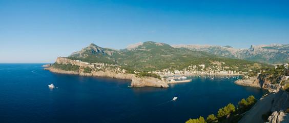 Mallorca, Küste bei Port de Soller