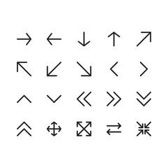 Arrow Outline Icon