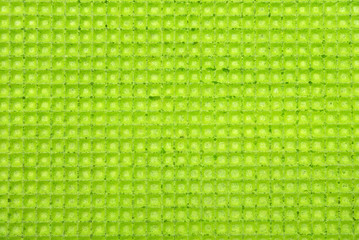 Green wafer texture for sweet food background