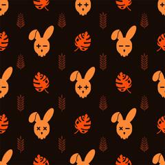 rabbit pattern No.9
