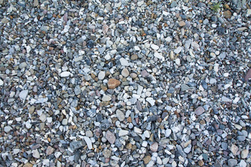 Pebble beach texture, background