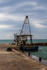Fishing boat, fishing boat.